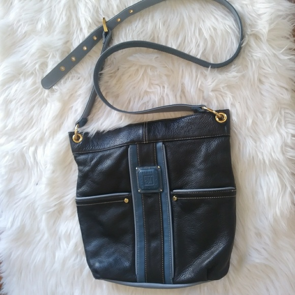 Stone Mountain Accessories Handbags - Black/Blue Stone Mountain Purse